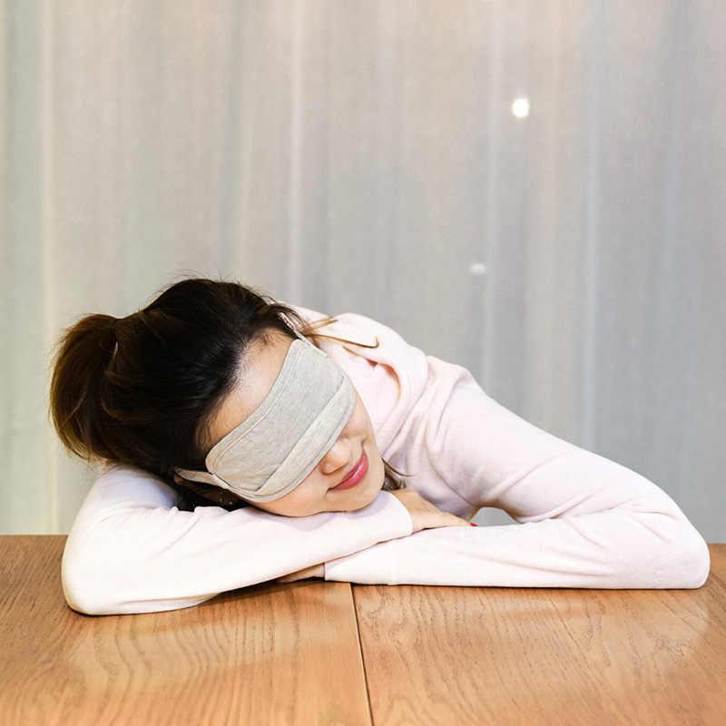 Gafas para dormir Xiaomi Mijia 8H Eyemask, ayuda para el descanso de sueño, portátiles, respirables, funda para dormir, sensación de hielo, Xiami de algodón