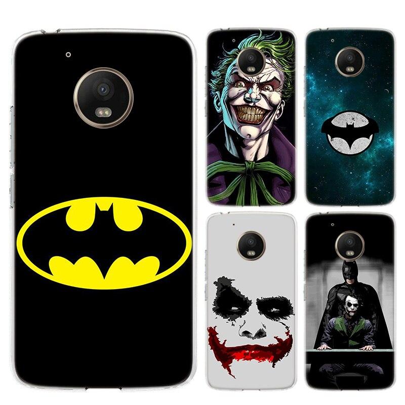 Batman Joker Dark Knight Soft Silicones Case For Motorola Moto G8 G7 Power G6 G5 G5S E4 E5 Plus G4 Play Back TPU Cover