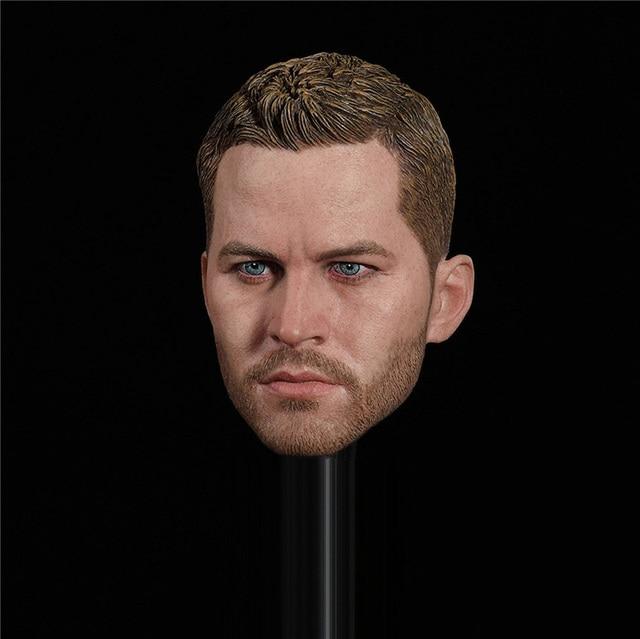 En Stock GC028 1/6 échelle mâle PVC tête sculpté Paul Walker Brian OConner tête sculpter modèle pour 12 figurine corps
