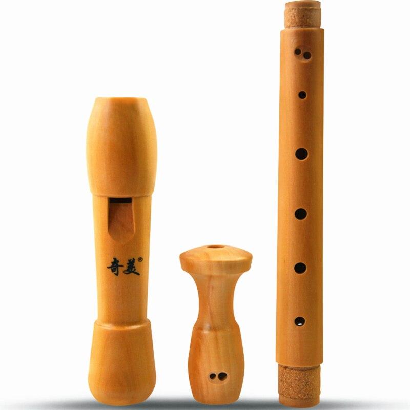 Деревянное записывающее устройство в стиле барокко и немецкая кларнет флейта альт 8 отверстий Flauta gaita funda flauta colegio grabadora intrumento musical