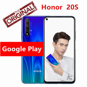 Original Honor 20S Smartphone Honor 20 S Kirin 810 Android 9 6.26 FHD 2340X1080 48.0MP+32.0MP Fingerprint 6GB 128Gb ROM Phone