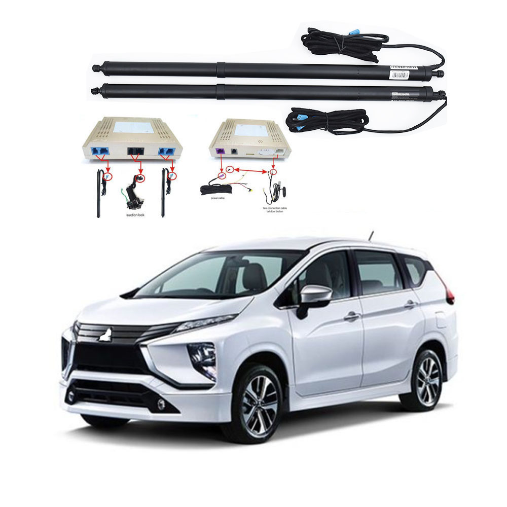 New Electric Tailgate Refitted For MITSUBISHI X-PANDER 2017- Tail BOX  Intelligent Electric Tail Door Power Tailgate Lift Lock