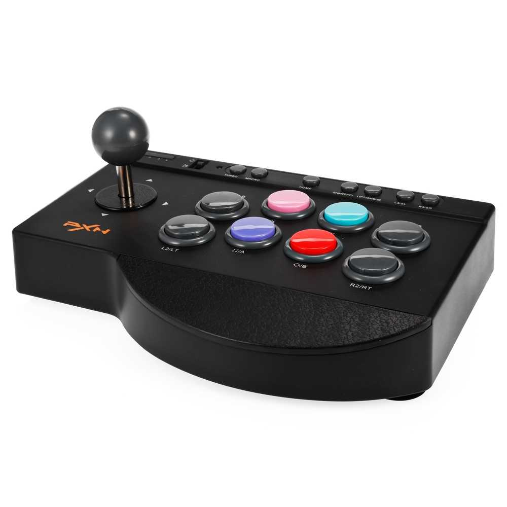 Simulasi Arcade Joystick Game Controller Kompatibel dengan PC PS3 PS4 Xbox One Joystick