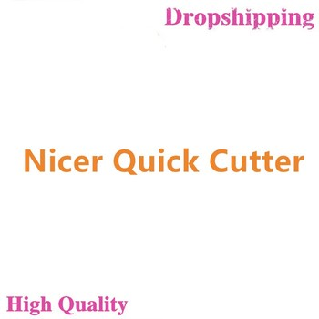 2020 4 Blades Nicer Quick Stainless Steel Vegetable Dicer Chopper 5 in 1 Multi-Functional Kitchen Onion Vegetable Cutter Slicer image
