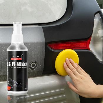 Konserwacja wnętrza samochodu części z tworzyw sztucznych środek do bieżnikowania konserwacja samochodu wosk skórzany Instrument Panel bieżnikowanie Agent tanie i dobre opinie CN (pochodzenie) 100ML glazing decontamination waterproof high temperature about 120g