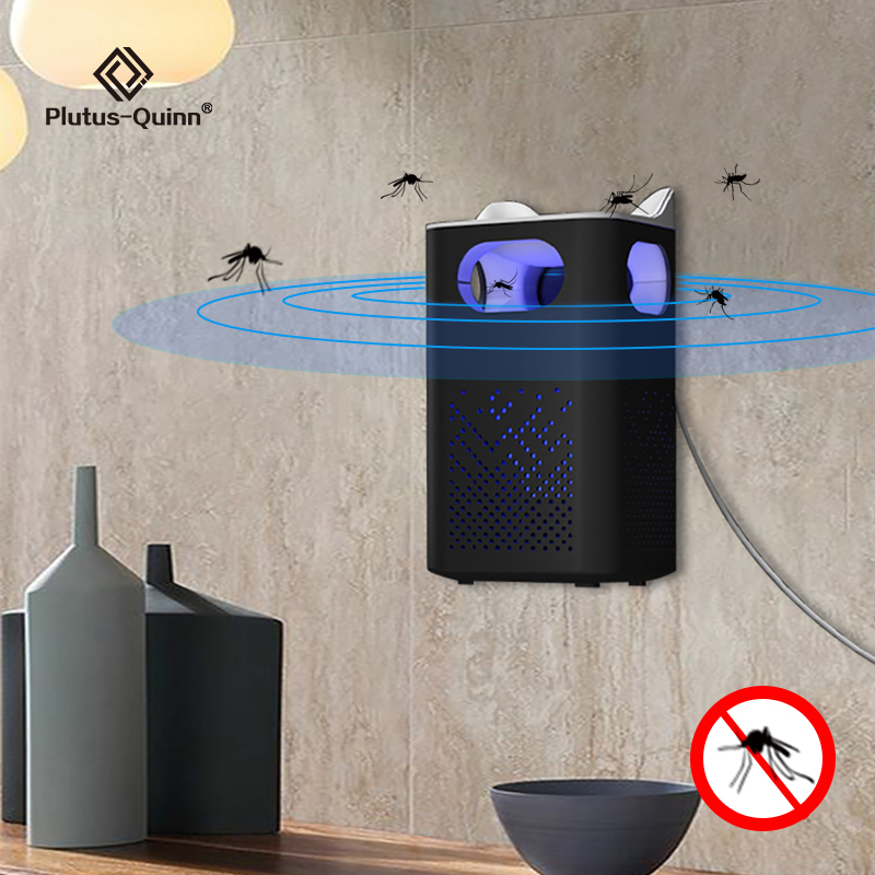 2020 Hangable Mosquito Killer Lamp USB Powered 360° Insect Killer No Noise Bug Zapper Mosquito Trap Light For Livingroom Bedroom