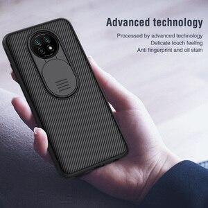 Image 4 - Nillkin Camera Len Bao Da Cho Xiaomi Redmi Note 9T Bảo Vệ CamShield Trượt