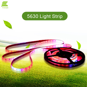 5630 led grow strip Aquarium Greenhouse hydroponic Full Spectrum lamp DC 24V 3 Red 1 blue Flexible growth light strip
