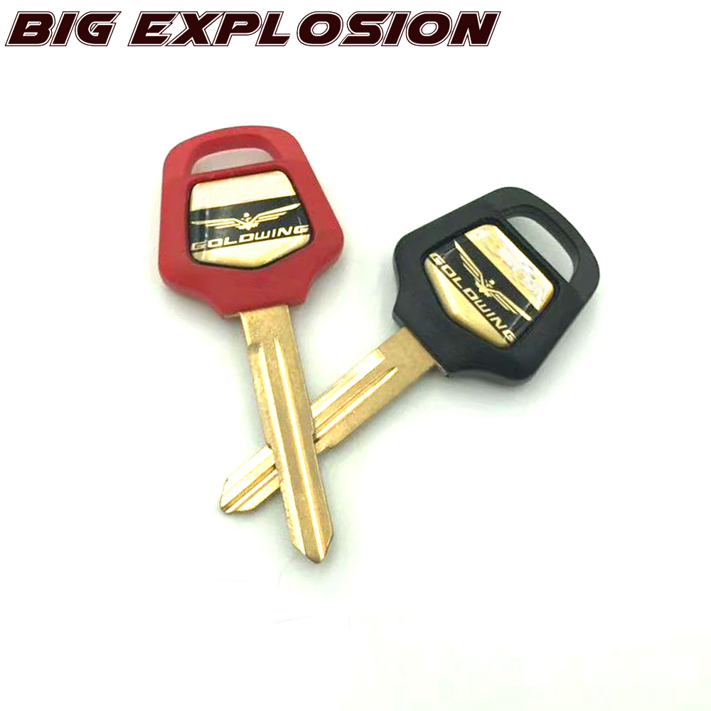 Motorcycle Accessories Embryo Blank Key for HONDA GOLD WING 1500 gold wing 1800 GL1800 <font><b>GL1500</b></font> 02 03 04 05 06 07 08 09 10 11 image