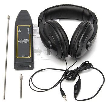 Leak Detector Water Pipe Electronic Stethoscope Earphone Car Detection Equipment 100Hz-10kHz