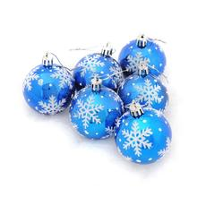 Dress-Up-Supplies Christmas-Snowflake Atmosphere Painted-Balls/christmas-Ball Xmas-Decor/festives