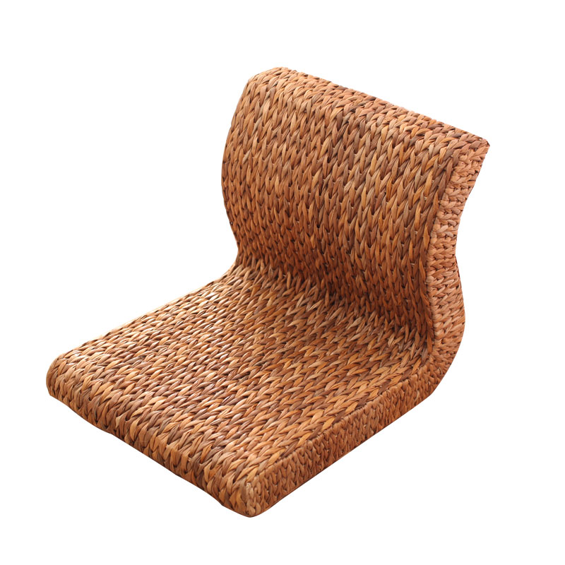 Japanese-style Tatami Legless Chair Straw Rattan Chair Bed Computer Chair Single Bay Window Seat And Room Chair