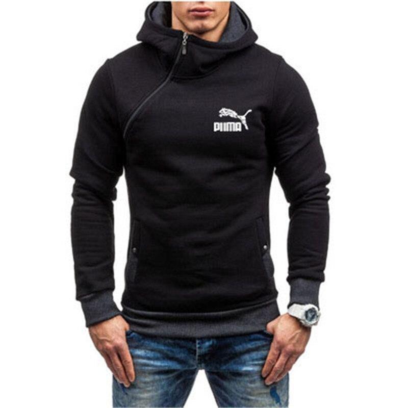 2021 New Fashion Hoody Printed Autumn Men Hoodies Sweatshirts Casual Hooded Sportswear Jacket Coat Double layer Zip Cardigan