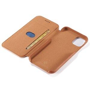 Image 4 - Capa Dành Cho Iphone SE 2020 11 2019 Dạng Flip Case Cho iPhone 12 11 Pro 12 Max 2019 XS XR X 6 7 8 Plus Từ Tính Lật Chân Đế Thẻ Ốp Lưng