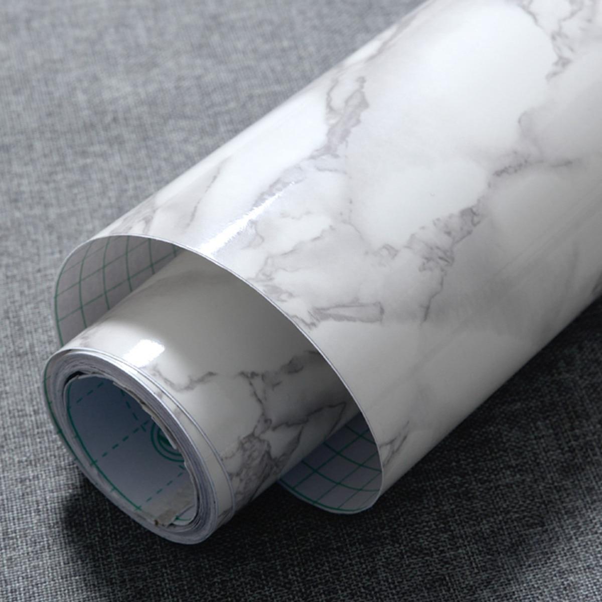 Roll Self Adhesive Wallpaper Granite Marble Texture Wallpaper Self Adhesive Sticker Rolling Paper Background Home Decor 60x50cm