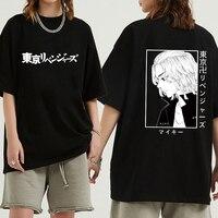 Hot Anime Tokyo Revengers T-shirt Harajuku Mikey Korte Mouwen Mannelijke T-shirt Unisex