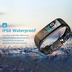 Image 1 - S5 Sports Smart Wristband  Watch Heart Rate Blood Pressure and Body Temperature Monitoring Ip68 Waterproof Bracelet Men s Women