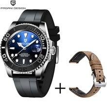 PAGANI DESIGN Automatic Men Mechanical Wrist watch Stainless Steel Waterproof Watch Luxury Top Brand Sapphire Glass Men's Gift