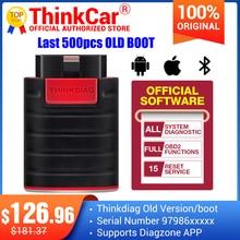 Thinkdiag OBD2เครื่องสแกนเนอร์ Old Boot รุ่น V1.23.004สนับสนุน Diagzone Full System สำหรับรถยนต์เครื่องมือ Ecu Coding PK Easydiag X431 Pro3