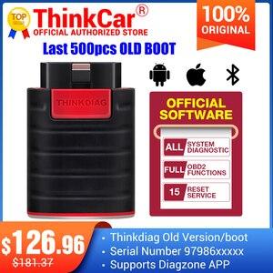 Image 1 - Thinkdiag OBD2 Scanner Oude Boot Versie V1.23.004 Ondersteuning Diagzone Volledige Systeem Voor Auto Gereedschap Ecu Codering Pk Easydiag X431 Pro3