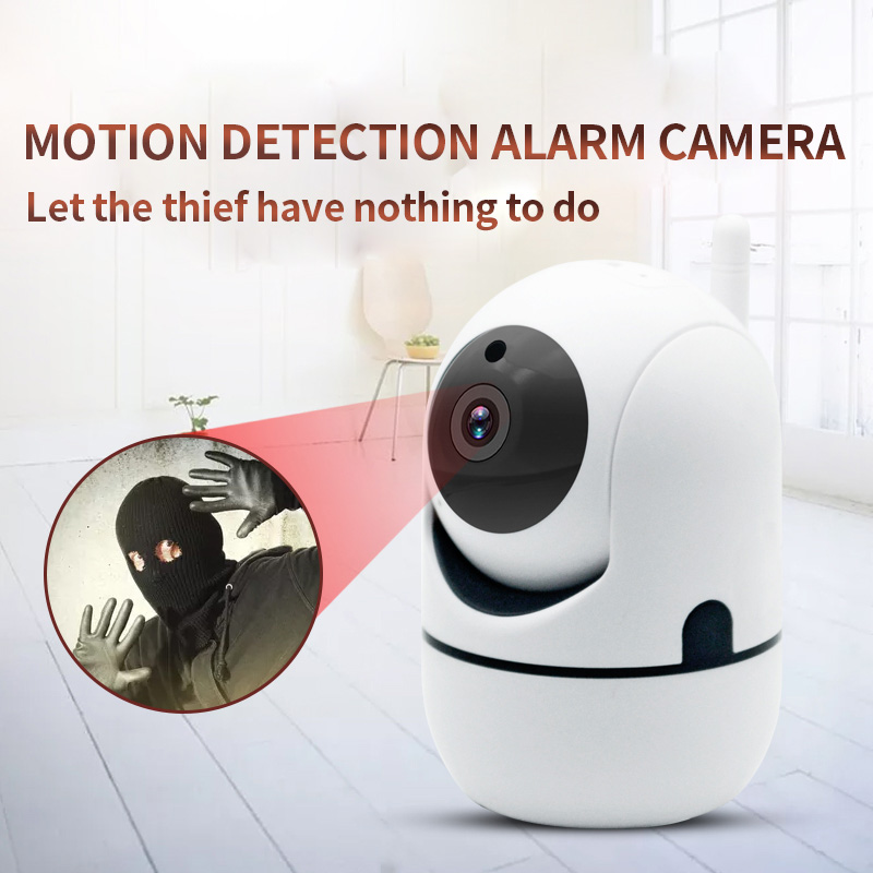 Y4 Mini Drahtlose PTZ IP Kamera Home Security Surveillance Wifi Kamera Mit IR Nacht Vision Bewegen Erkennung Handy Bedienen