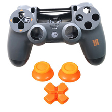 PS4 프로 하우징 셸 페이스 플레이트 케이스 커버 교체 플레이 스테이션 4 Dualshock 4 프로 4.0 V2 Gen 2 컨트롤러 JDM 040 JDS 040