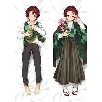 MMF Kimetsu no Yaiba anime Characters sexy girl kamado nezuko body pillow cover pillowcase kochou shinobu Dakimakura
