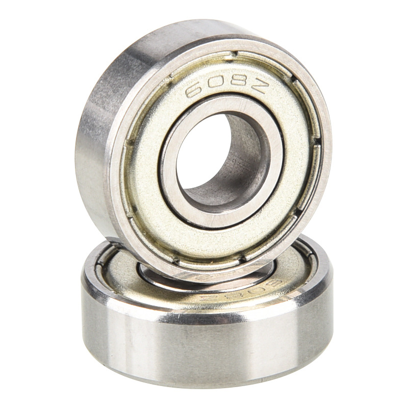 Deep Groove Ball Bearing 608ZZ 2RS 3D Printer Parts Deep Groove Flange Pulley Bearings For Tranmition Jmc 8mm*22mm*7mm