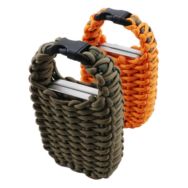 Outdoor Survival Bag Multifunctional Paracord First Aid Set Camping Hiking Climbing AdventureEmergency Fishing Survival Kit Bag