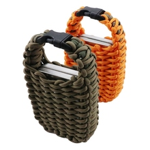 Outdoor Survival Bag Multifunctional Paracord First Aid Set Camping Hiking Climbing AdventureEmergency Fishing Kit