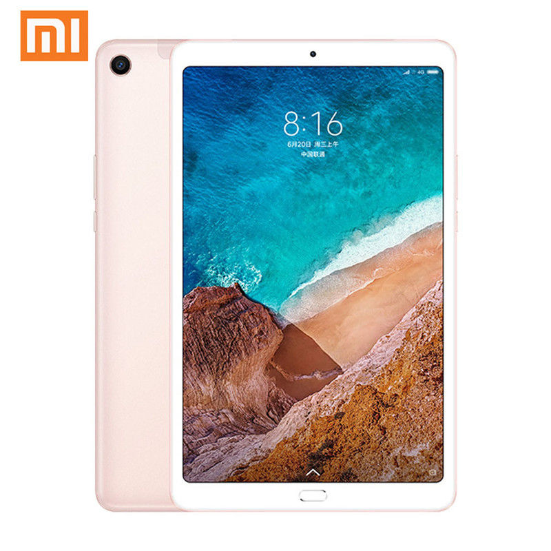XIAOMI Mi Pad 4 Plus LTE 10.1 Inch PC Tablet 4G RAM 64G ROM Snapdragon 660 Octa Core 1920*1200 MIUI 9.0 5MP+13MP Cam 4G Tablet image