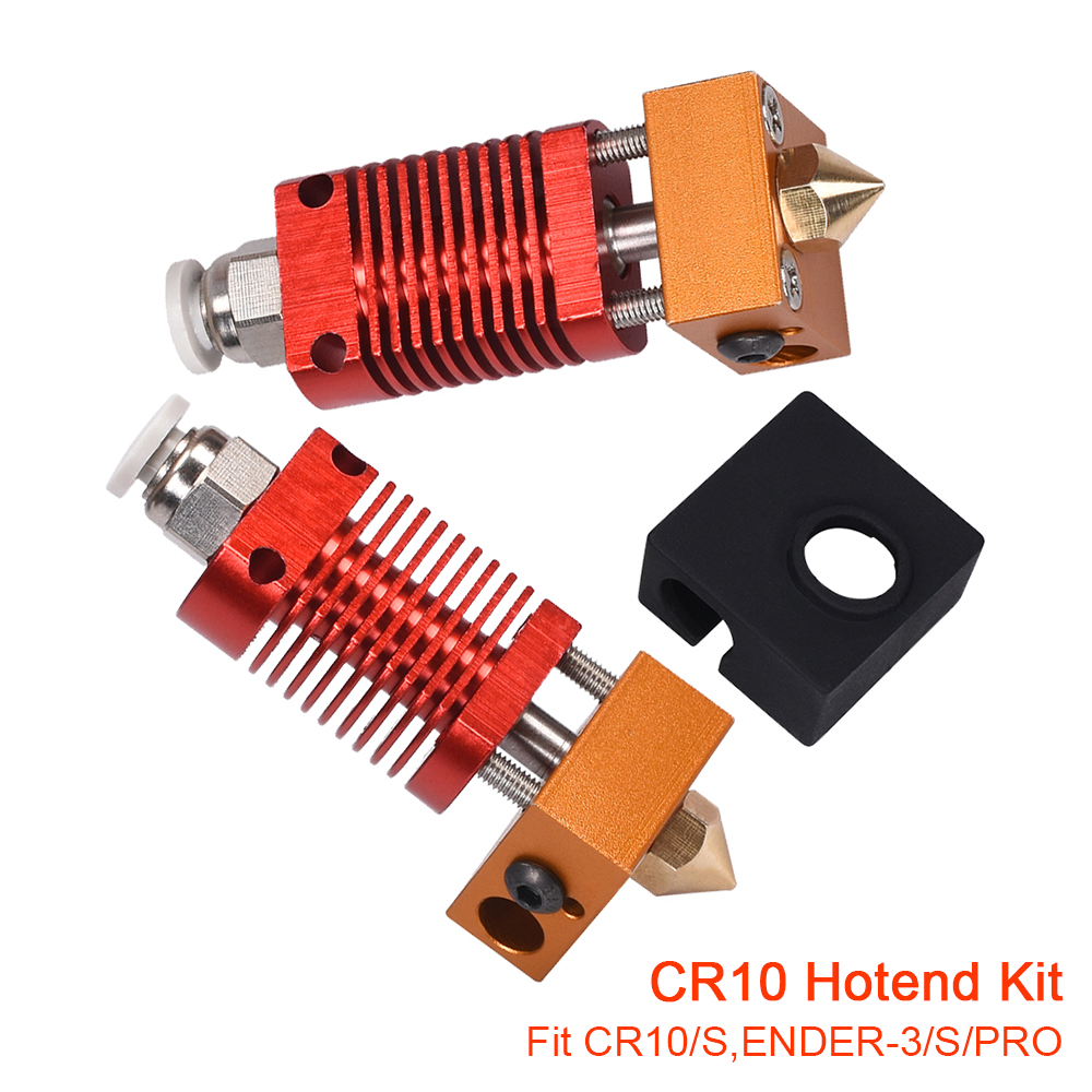 CR10 Hotend Bowden Extruder Kit All Metal Hot End MK8 J-head Nozzle Heater Block For ender-3 PRO CR10 10S 3D Printer Parts