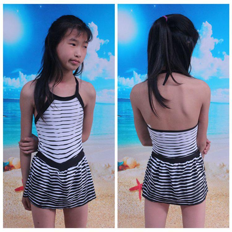 KID'S Swimwear GIRL'S One-piece Cute Princess Dress-Baby Small Children Swimwear Girls Swimwear
