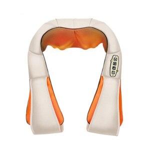 Image 2 - U 形電気指圧肩マッサージ多機能ショール赤外線加熱混練カー/ホームマッサージ