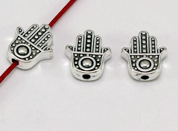 10pcs/lot hand Tibetan Silver Bracelets Spacer Beads Handmade Decorative Metal Ball Beads DIY Jewelry For Men fsg4|Beads| - AliExpress