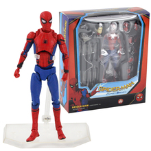 15cm Super Hero Spiderman Mafex NO.047 Homecoming Ver. Spide