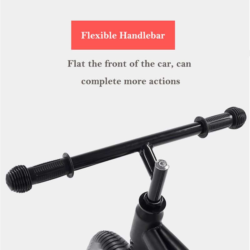 Детский Сияющий балансировочный автомобиль для езды на велосипеде, игрушки, двойное колесо, раздвижной автомобиль, регулируемый, без педали, для детей 2 6 лет - 4