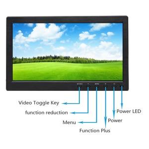 Image 3 - Мини монитор с сенсорным экраном 10,1 дюйма, ЖК дисплей full HD, IPS 1920*1200, BNC AV VGA HDMI