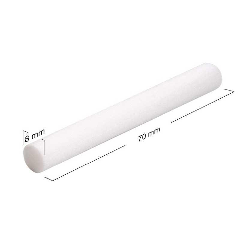 10 unidades/pacote substituição do filtro umidificador de algodão esponja vara para usb umidificador aroma difusor névoa criador umidificador ar