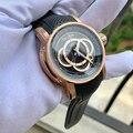 2020 Риф Тигр/RT дизайнерские спортивные часы для мужчин розовое золото кварцевые часы с хронографом и датой reloj hombre RGA3063