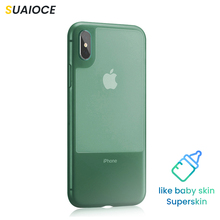 SUAIOCE Luxury Transparent Liquid Silicone Phone Case for Apple iphone X XS MAX XR 7 8 Plus Soft TPU Cover Full Protective Case tpu soft case flash rhinestone edge phone protection case silicone protective cover for iphone 7 transparent gold