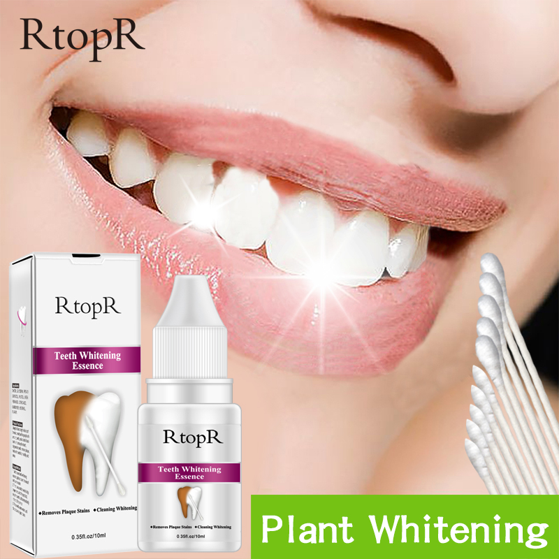 Teeth Oral Hygiene Essence Whitening Essence Daily Use Effective Remove Plaque Stains Cleaning Product Teeth Cleaning Water 10ml