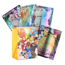 TAKARA TOMY – Carte Pokemones GX brillante, Version française, pas de répétition, Carte de combat et de commerce, jouet pour enfants