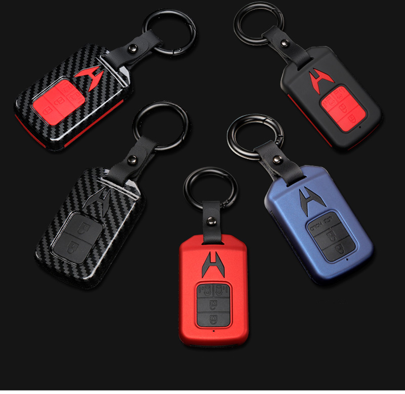 lowest price 2019 Zinc Alloy Key Cover Case For Toyota Chr C-hr Land Cruiser 200 Avensis Auris Corolla Car Styling Key Protection keychain