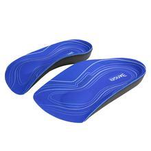 3angni 3/4 arco apoio pés planos palmilhas inserções ortopédicas sapatos palmilhas calcanhar dor plantar fasciite homem mulher