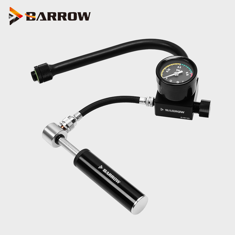Barrow Water liquid cooling Kit Leak Tester Device Air Pressure test Tools Water Cooling Necessory Gadget ,Recommend 2