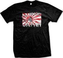 Camiseta para homem de impressão gráfica hilariante da faculdade dos sayings engraçados do im enorme no japão
