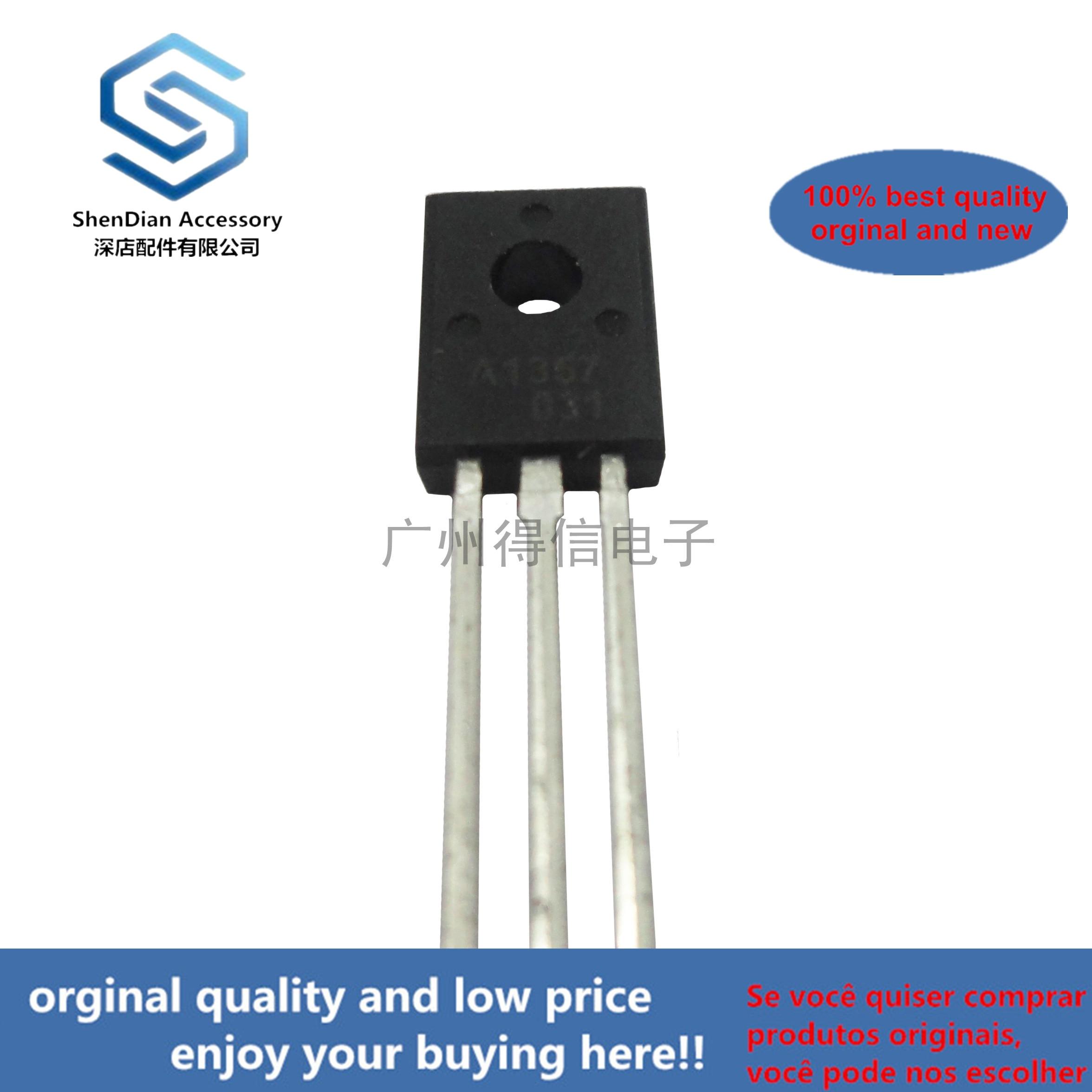 10pcs 100% Orginal New  2SA1357 1357 TO-126 Plastic-Encapsulated Transistors Real Photo
