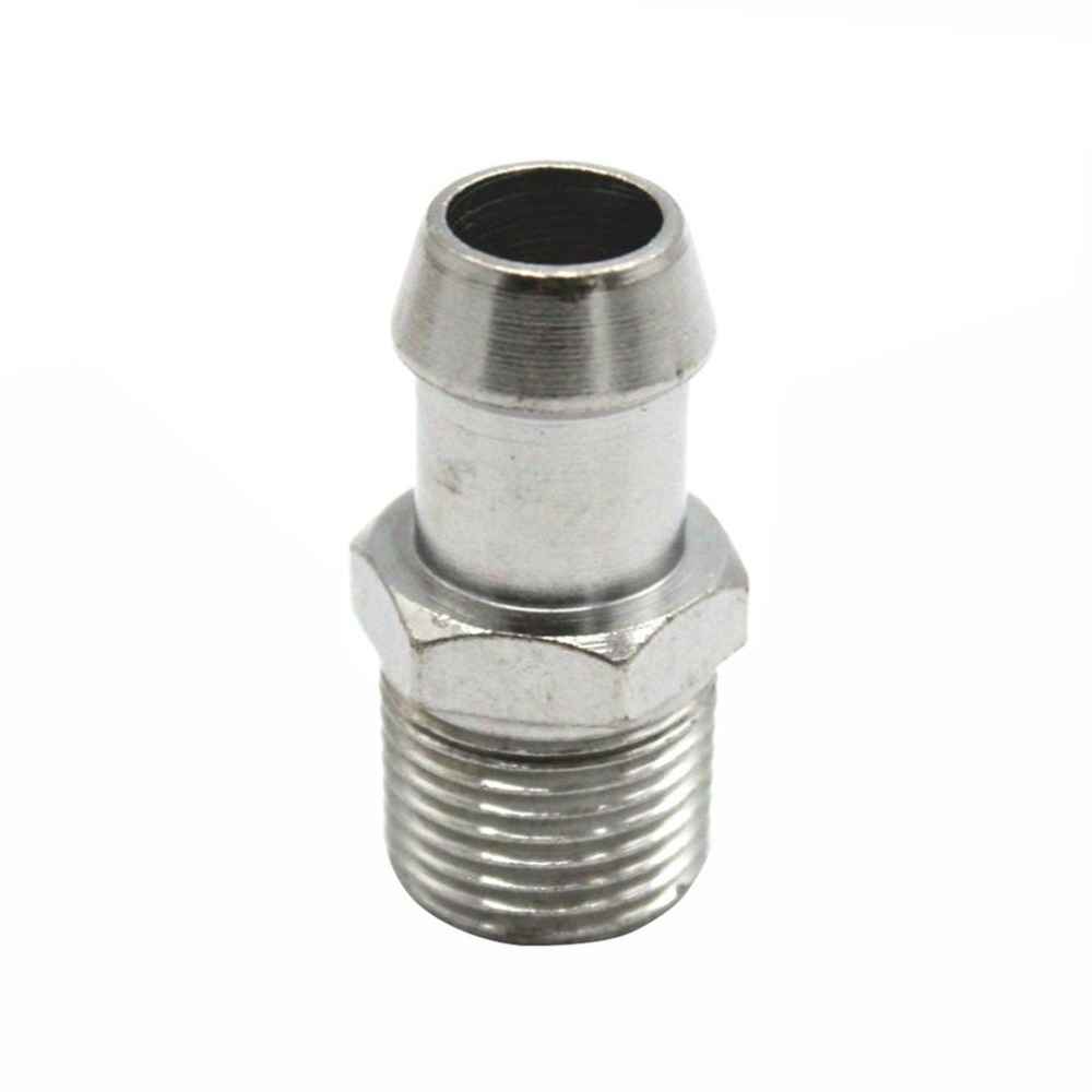 """2 5//8/"""" Straight Barbed Nylon Connector for Silicone Air Intake Lines NEW"""
