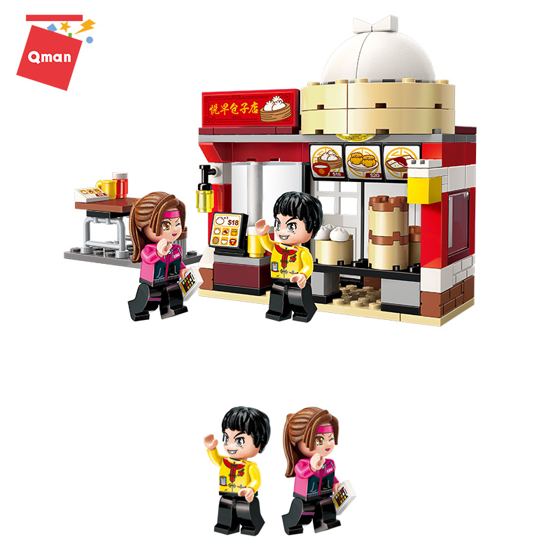 Compatible Technic Architecture Building City Blocks Diy Bricks Bulk Model Toy Toys For Friends Children Kids Girls Boys